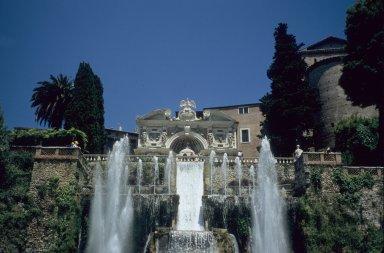 Fountain of the cascade