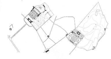 Villa Medici, Castello (complex)