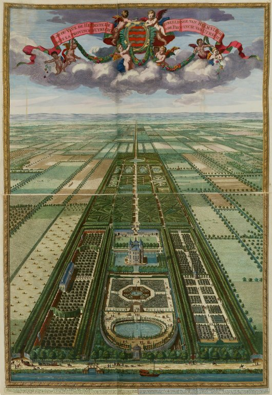 """Plan or view of Heemstede in the province of Utrecht"", ""Plan or view of Heemstede in the province of Utrecht"""